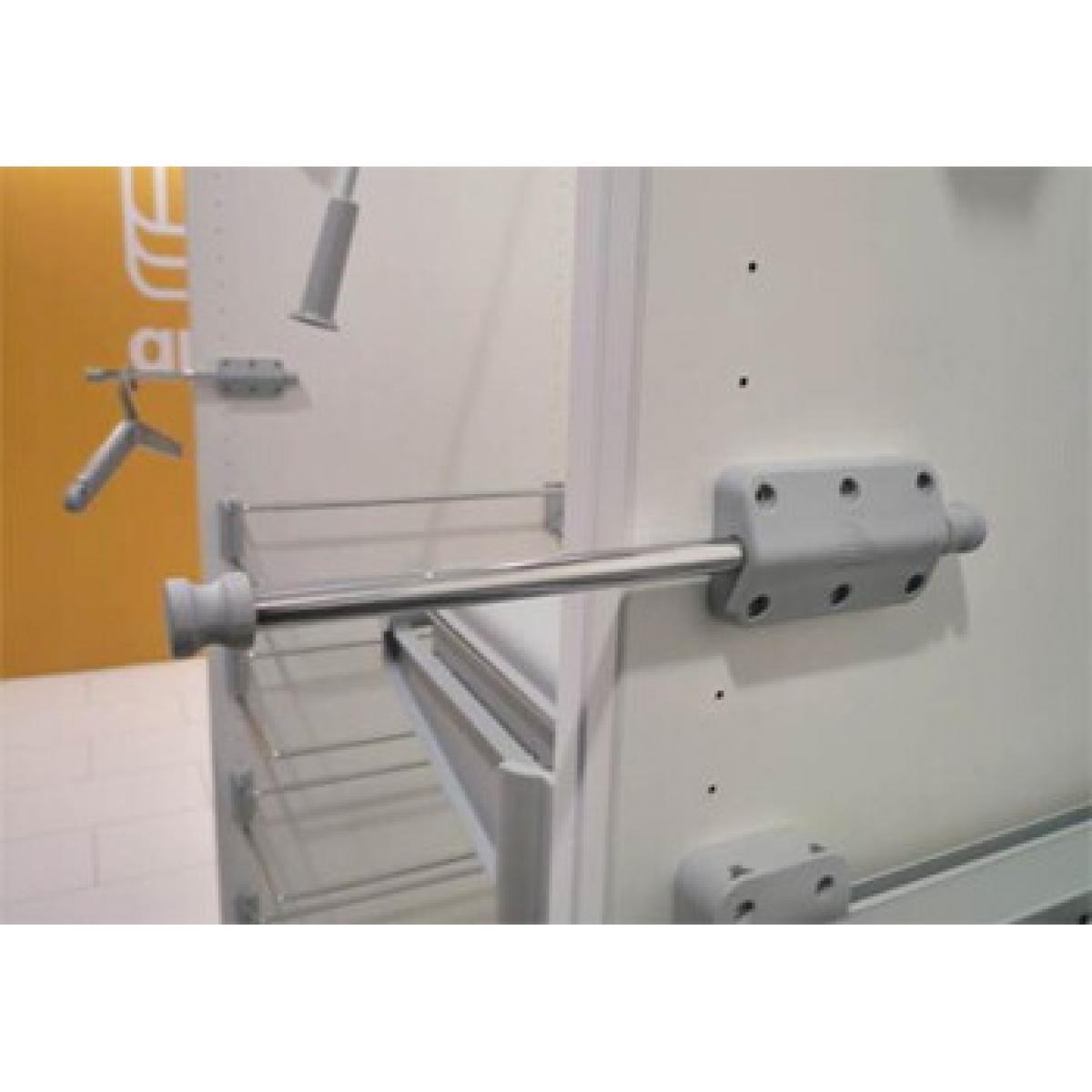 Выдвижной держатель для плечиков Minitube. цвет серый; Производитель: Ambos SRL ИТАЛИЯ