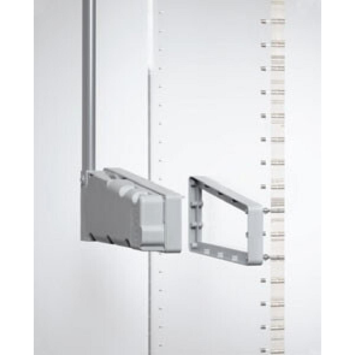 Расширитель проема 2см пантограф мебельный Лифт 300 для одежды в шкаф проем 75-115см вес до 10кг цвет серый; Производитель: Ambos SRL ИТАЛИЯ