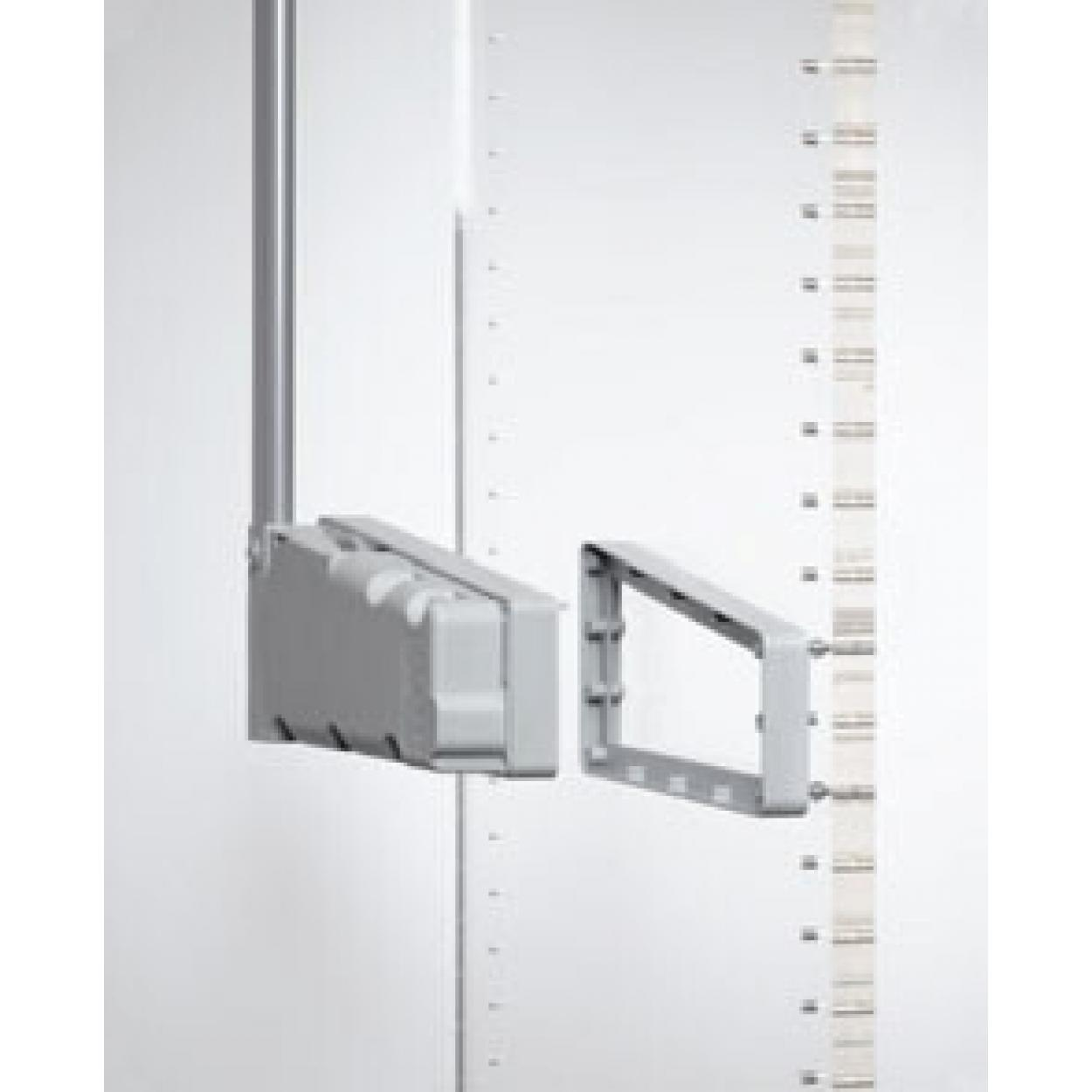 Расширитель проема 2см пантограф мебельный Лифт 300 для одежды в шкаф цвет серый