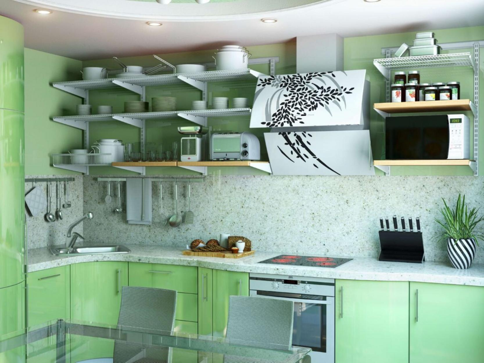 Кухонный стеллаж
