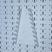 Держатель ключей 210х150мм. Цвет:Белый