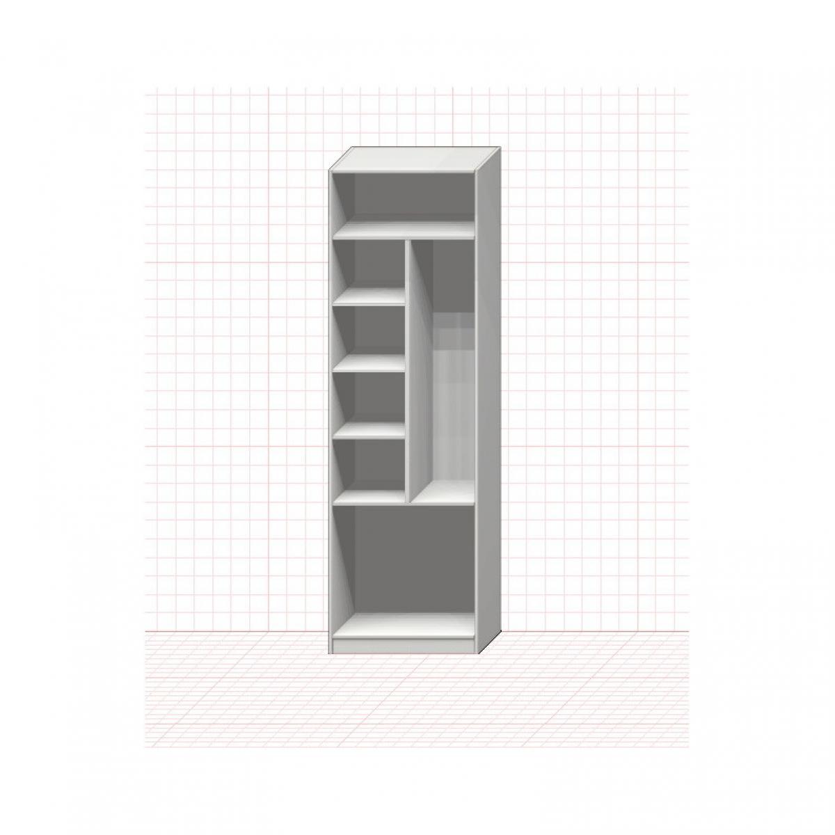 Шкаф хозяйственный гардеробный №3