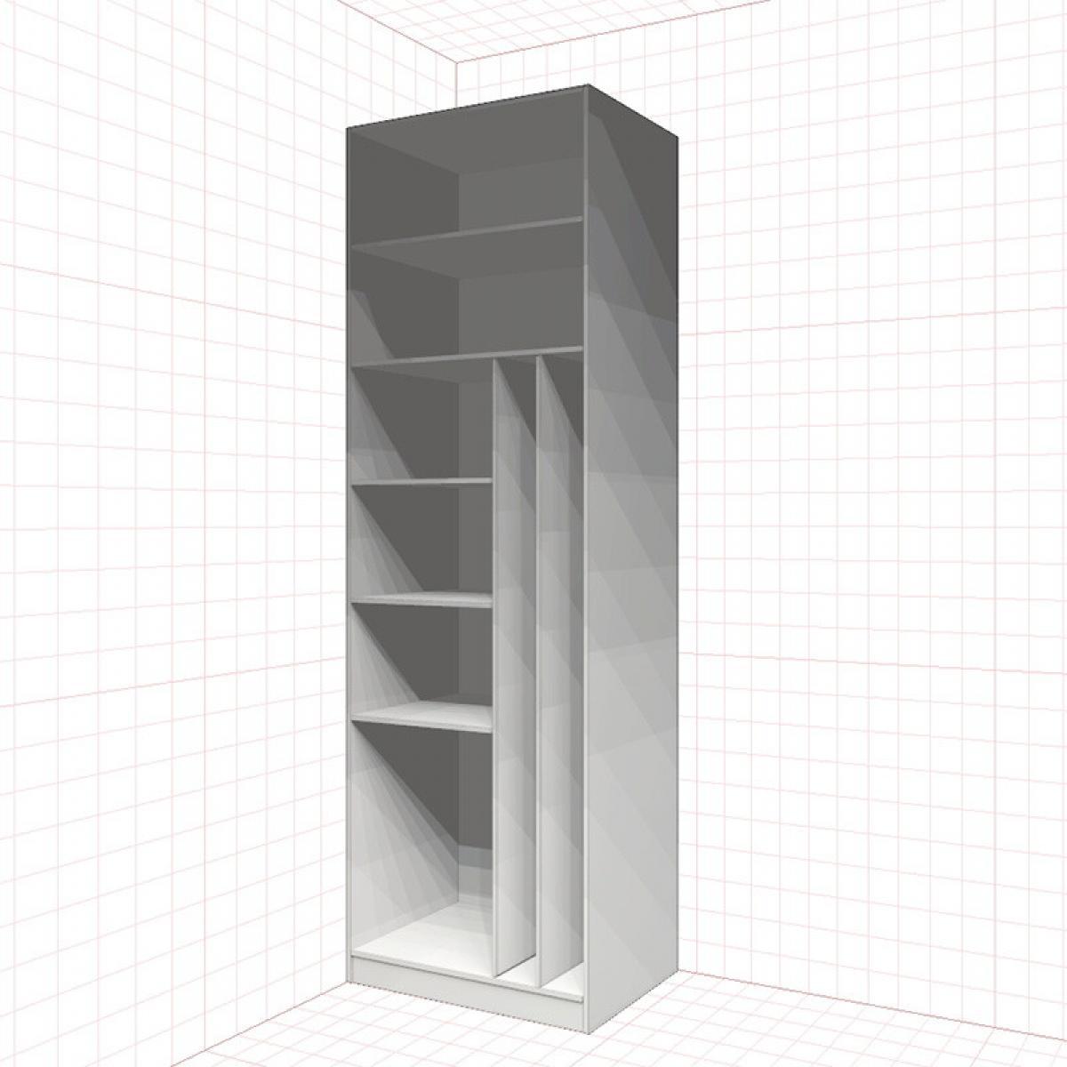 Шкаф хозяйственный гардеробный №1