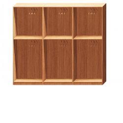 Прямая классическая гардеробная комната №2-1