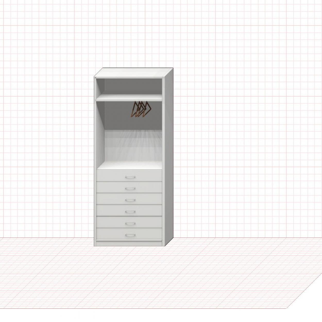 Шкаф гардеробный №11