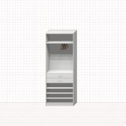 Шкаф гардеробный №16-1