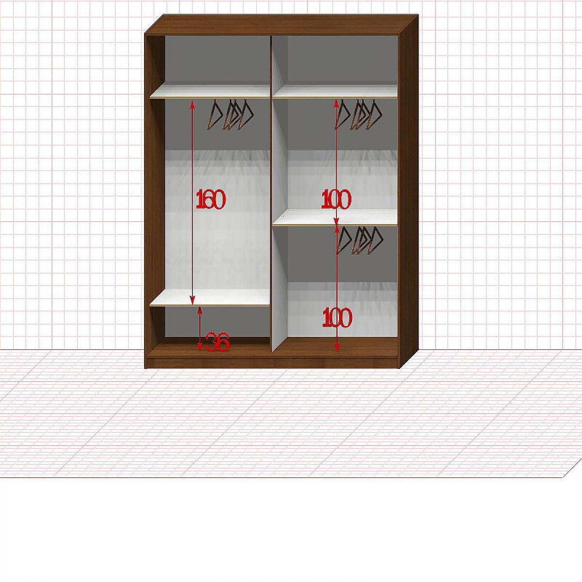 Шкаф гардеробный №27-5-00