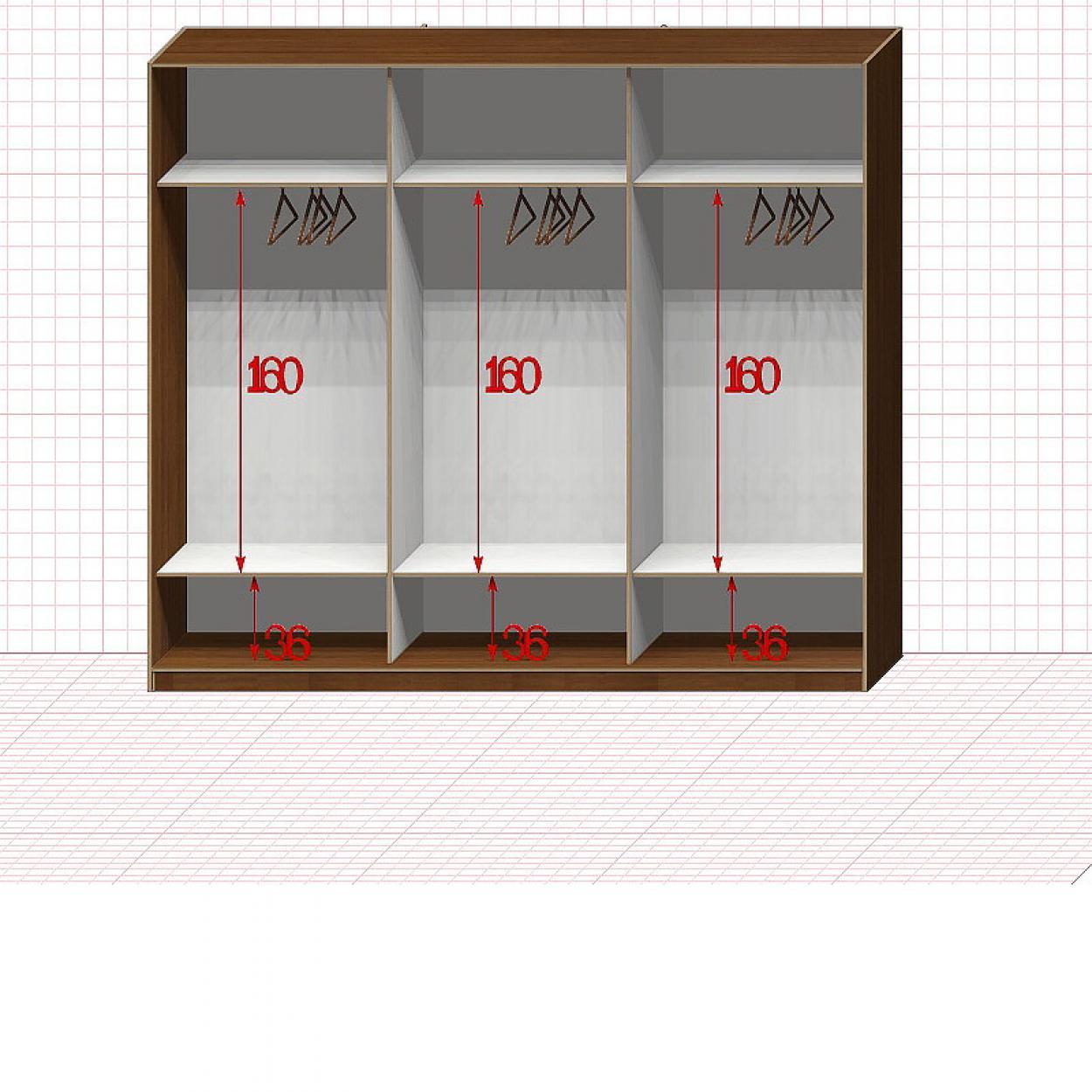 Шкаф гардеробный №29-9-20