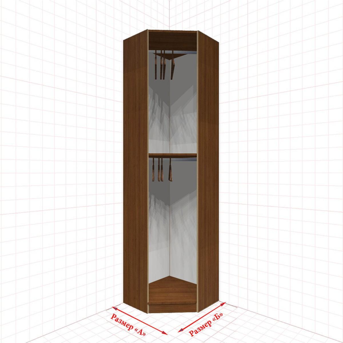 Угловой шкаф гардеробный №1