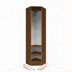 Угловой шкаф гардеробный №2
