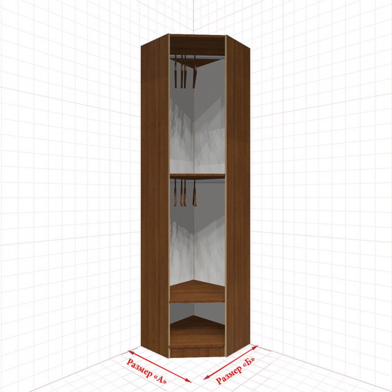 Угловой шкаф гардеробный №3
