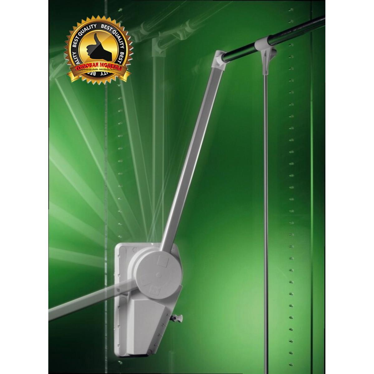 пантограф мебельный Супер Лифт 151/A для одежды в шкаф цвет серый; Производитель: Ambos SRL ИТАЛИЯ