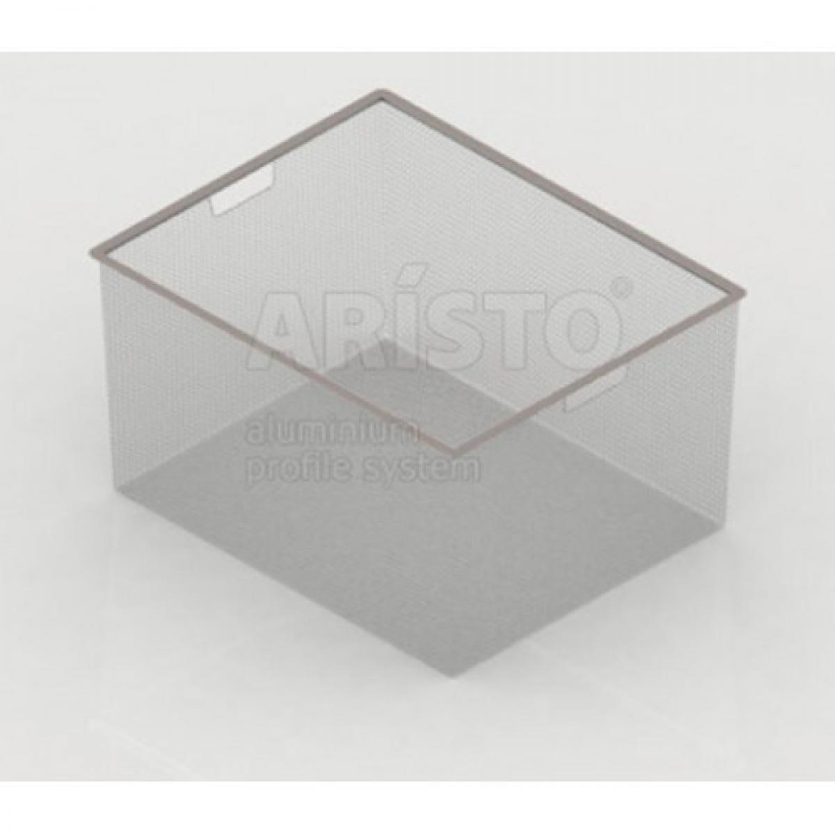 Корзина мелкосетчатая Аристо. Размер ш450мм х г427мм х в285мм. Цвет Металлик