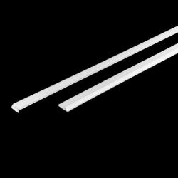 Заглушка декоративная на кронштейн Аристо, (в комплекте 2 шт. Левая+Правая). Глубина:540мм, Цвет: `Белый'