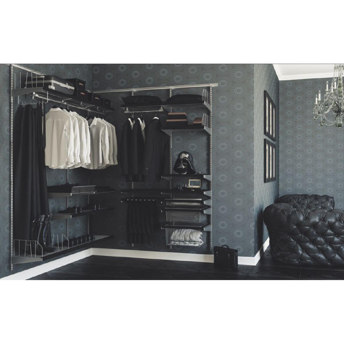 Мужская угловая гардеробная система АРИСТО 39