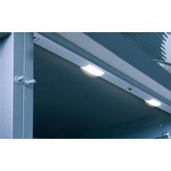 Светильник светодиодный Miami Led длинна 563mm 2x3LEDs 2W 5000K (холодный свет)  12V, анодированный алюминий