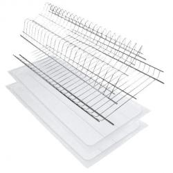 Сушка для посуды 114 для модуля 800мм хром сталь