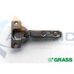 Петля Grass Slide-On для полунакладных дверей, угол открывания 100 гр.(F016073014236)
