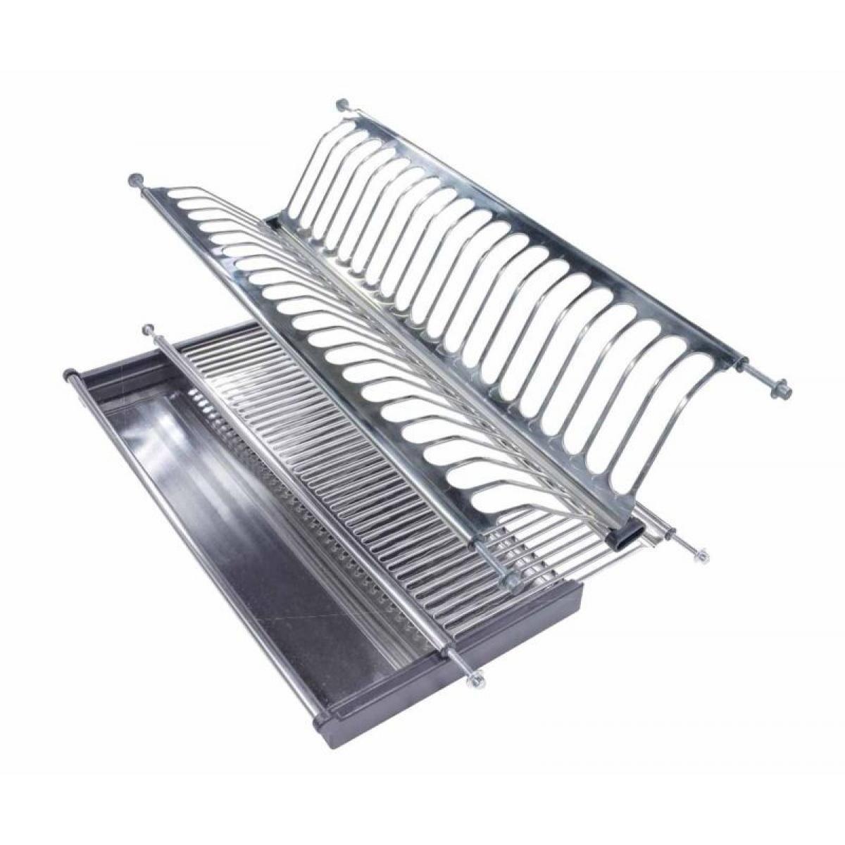 Сушка для посуды 501 для модуля 600мм сталь нерж.