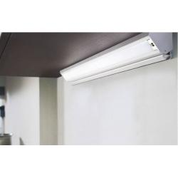 Светильник Corner светодиодный с розеткой для модуля 600mm 220-240V 5.9W 3000K (Теплый свет) 54LEDs, анодированный алюминий