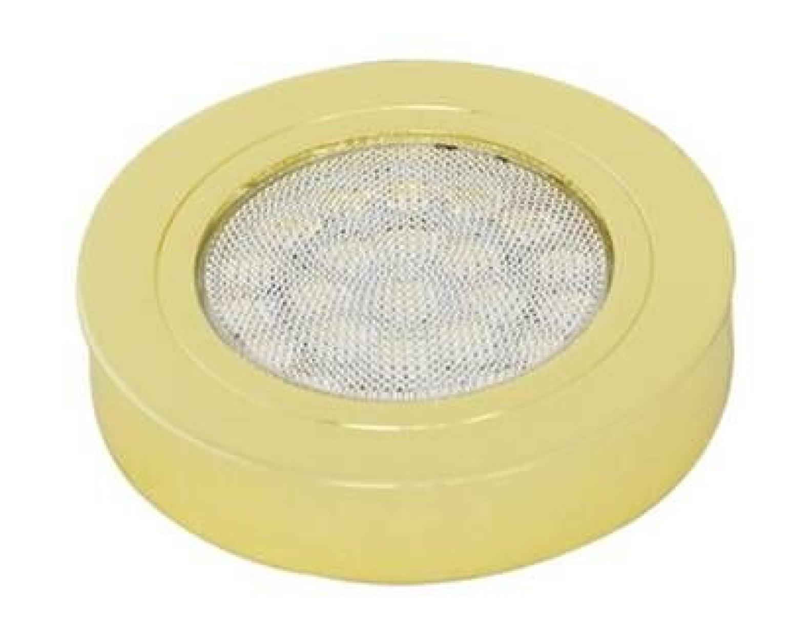 Светильник 226 светодиодный 3000К (теплый свет), золото