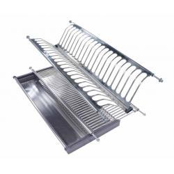 Сушка для посуды 501 для модуля 800мм сталь нерж.