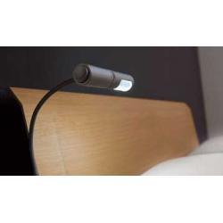 Светильник Arley 7W 230V правый с вилкой цвет алюминий