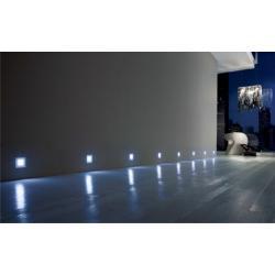 Светильник светодиодный Base 0.35W 4LED 5000K (холодный свет) 12V, серый металлик