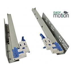 Направляющие 500 скрытого монтажа (30кг) полного выдвижения с креплением Clip on,  L550мм