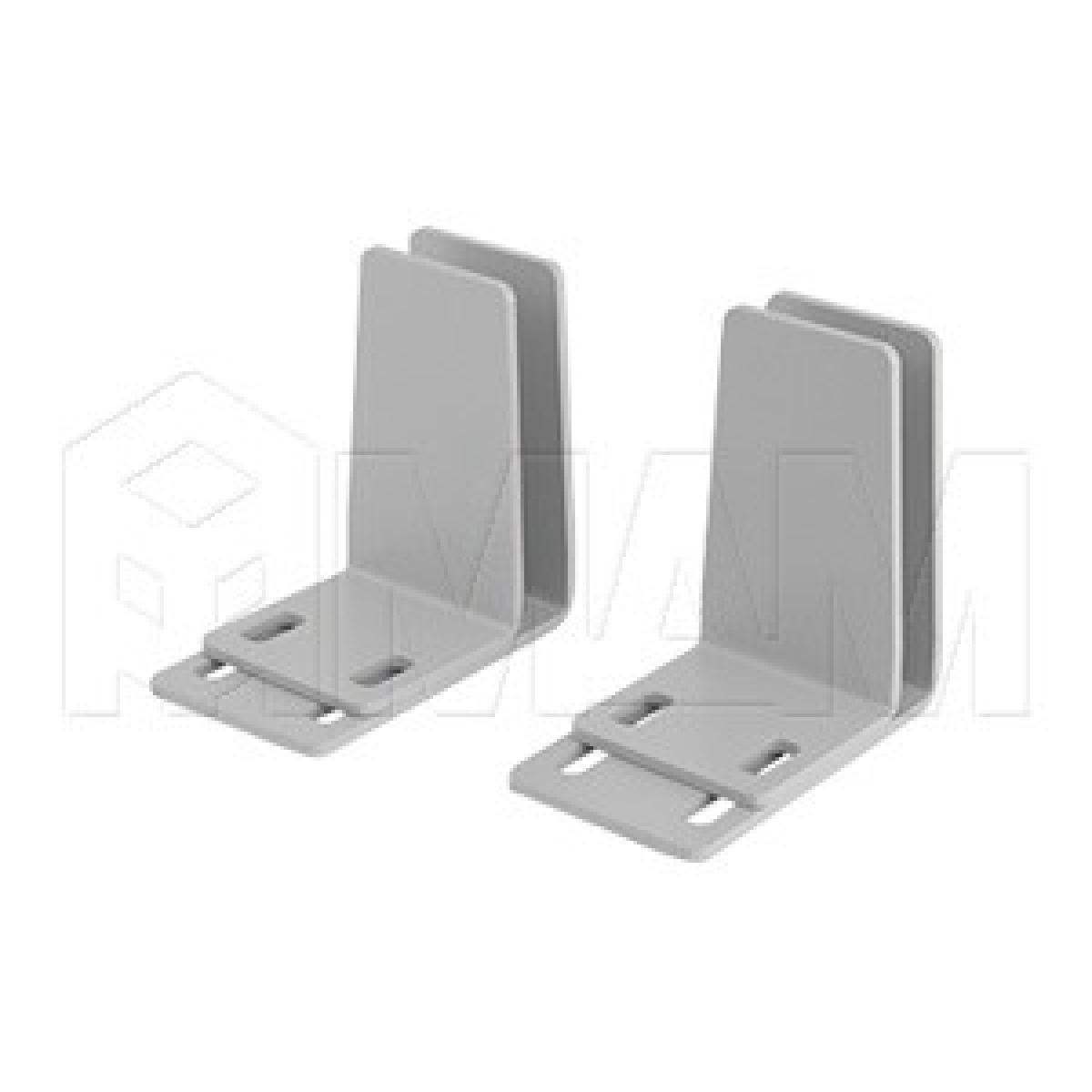 Крепление экрана-перегородки над столом, комплект для одинарного стола