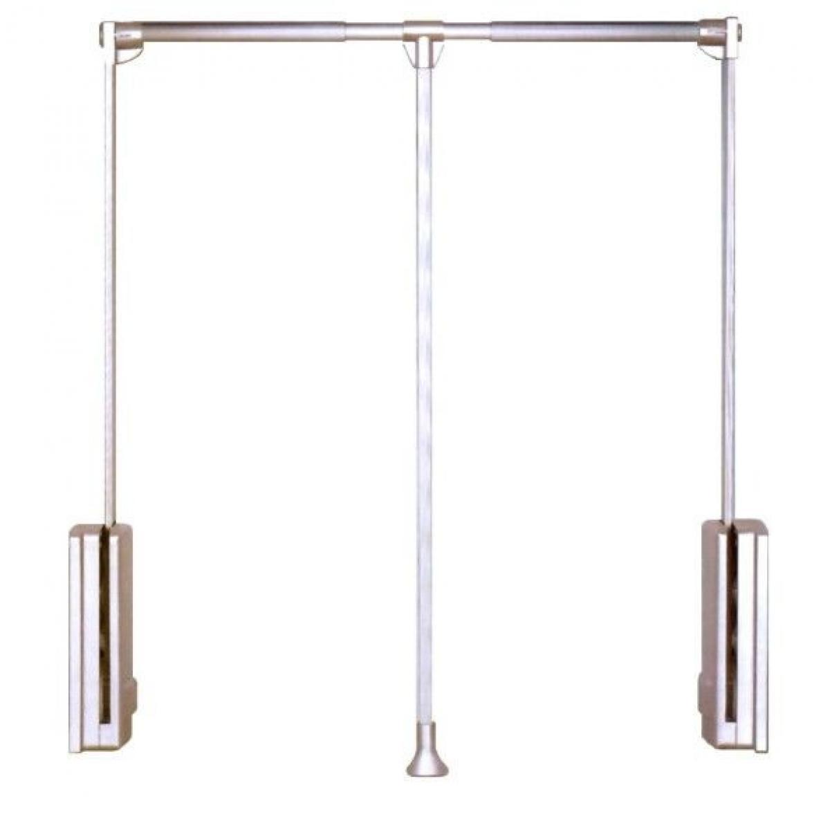 пантограф мебельный Лифт для одежды 113 телескопический L83-115см