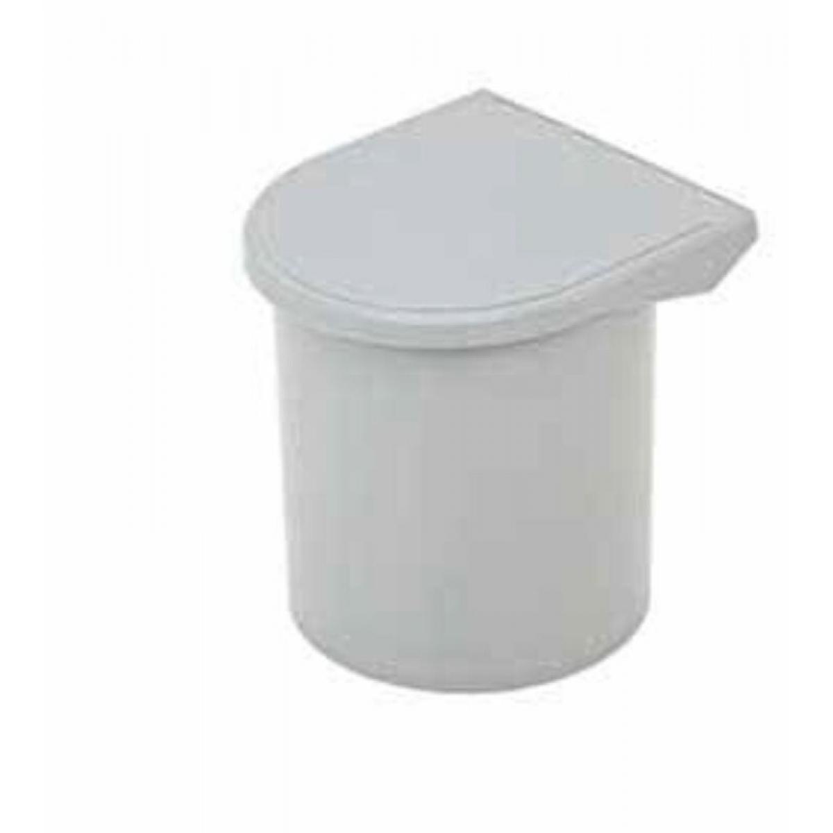 Ведро для базы от 400мм, 10л, пластик, *цвет- серый