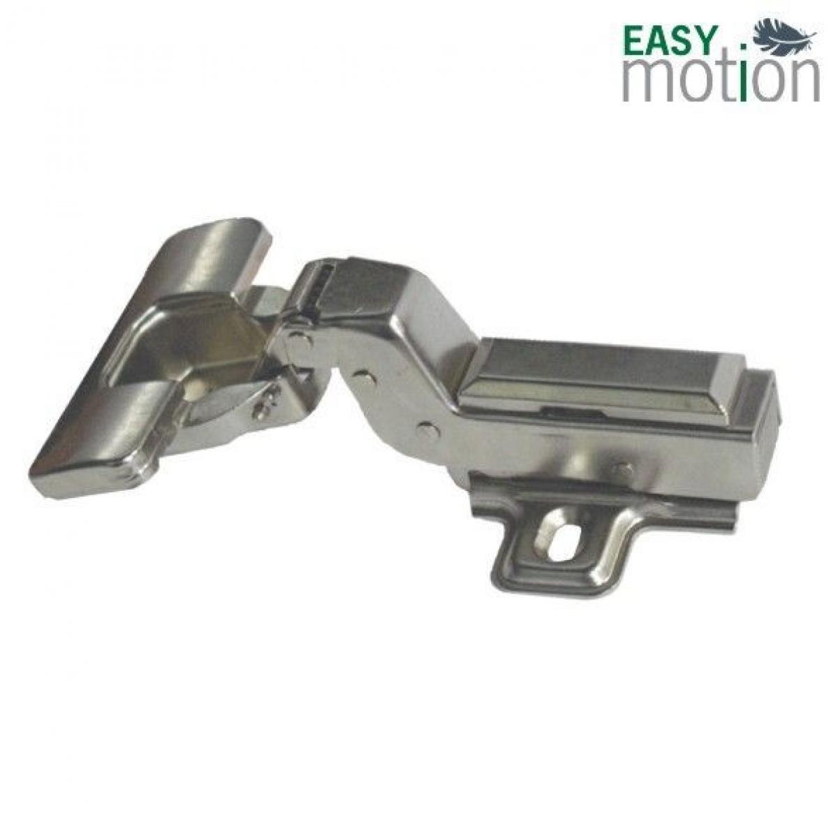 Петля 350 Clip-On D35мм с доводчиком для вкладных дверей с м.планкой H0мм