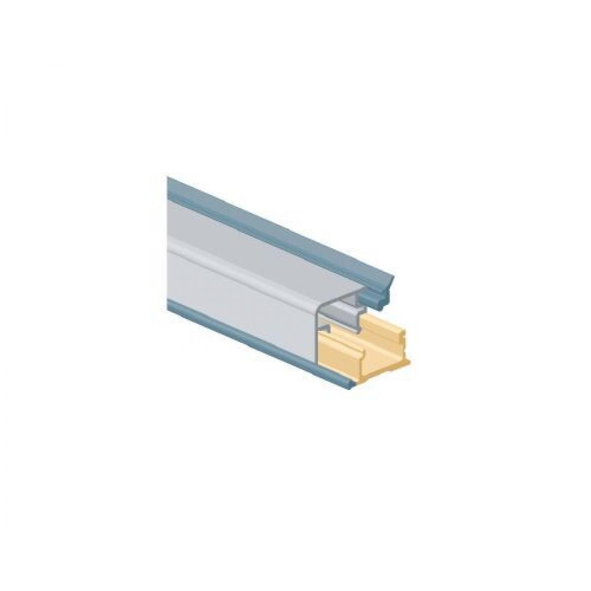 Плинтус столешницы R360 H15 L3,9м цвет алюминий