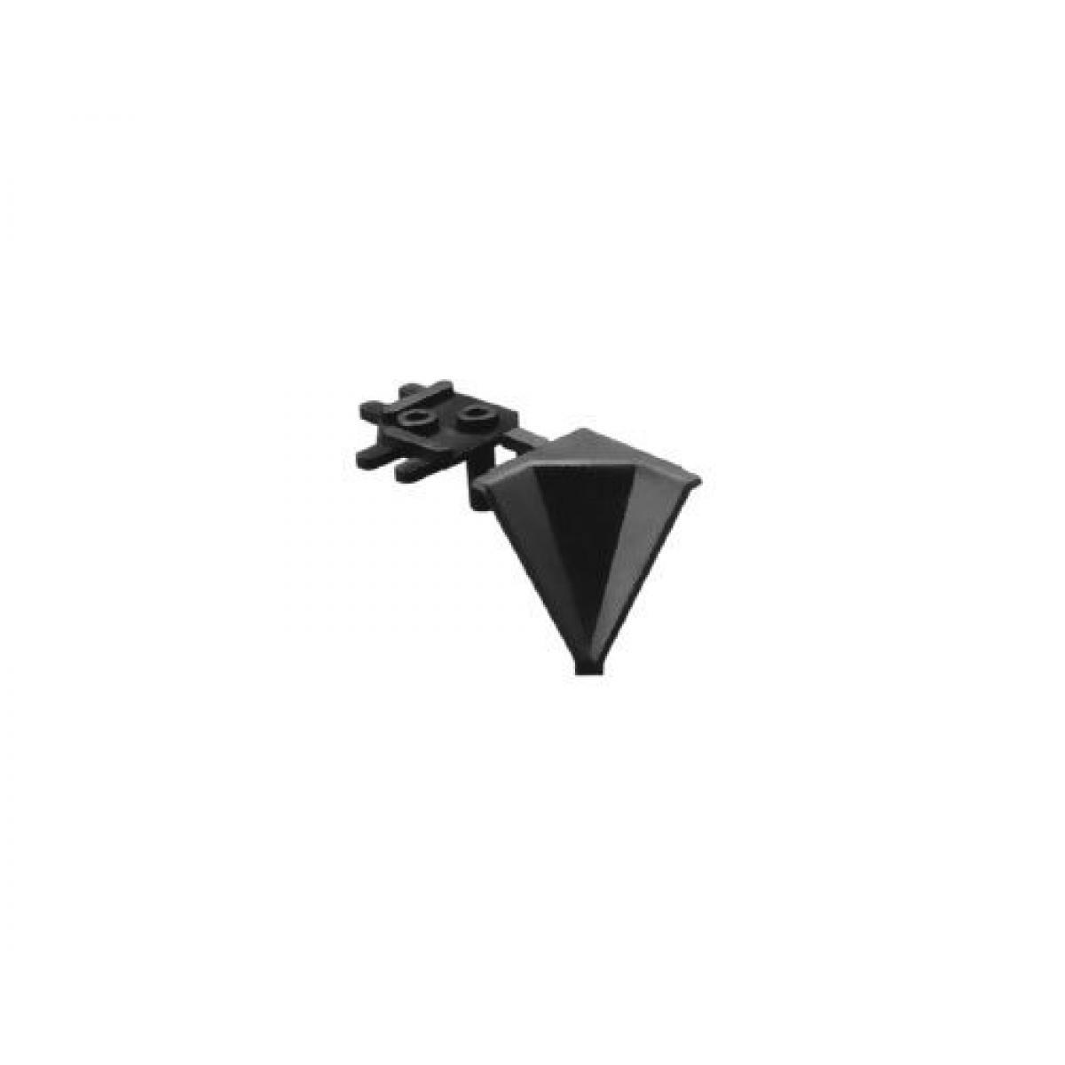 Угол внутренний 90 гр к плинтусу столешницы AA14107, цвет серый