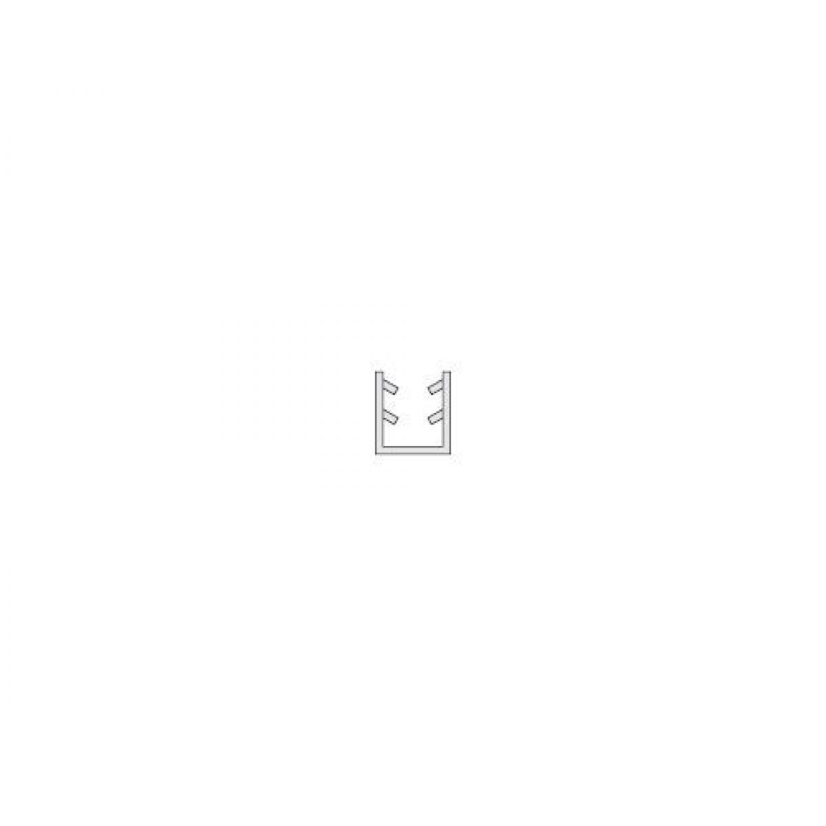 Уплотнитель для стекла профиля 19х20,5 3м