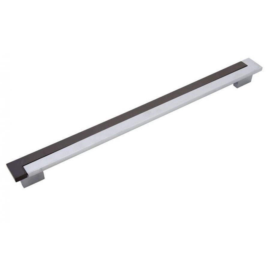 ручка 1391, Межосевое расстояние для крепления ручки - 288-320мм, покрытие черный никель/хром 5А/1А