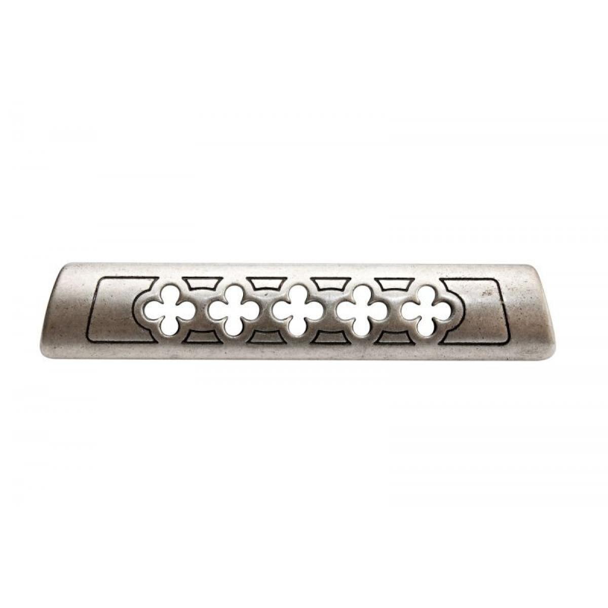 ручка 1353А 0033, Межосевое расстояние для крепления ручки -128мм, покрытие состаренный металл 33