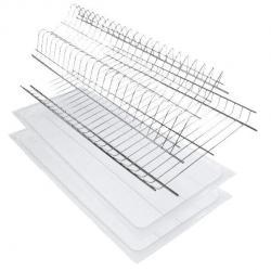 Сушка для посуды 114 для модуля 400мм сталь хром
