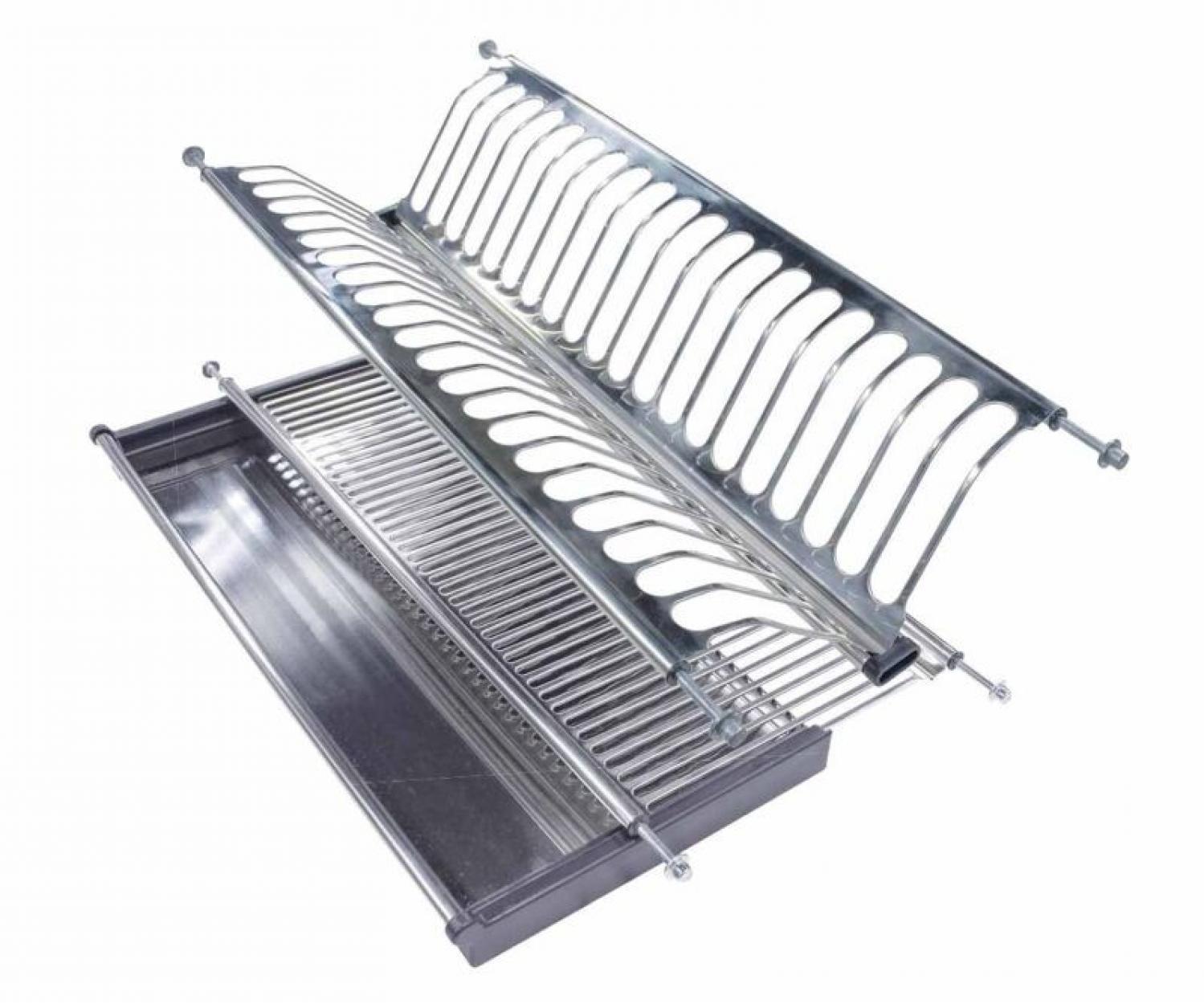 Сушка для посуды 501 для модуля 800мм нерж.сталь
