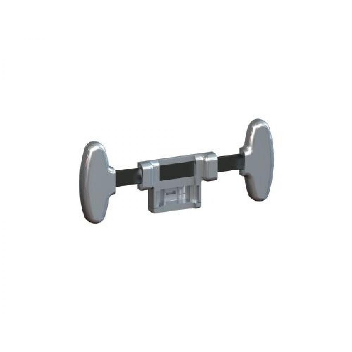 Slim 7066 Комплект адаптора для крепления Vibo *цвет-алюминий