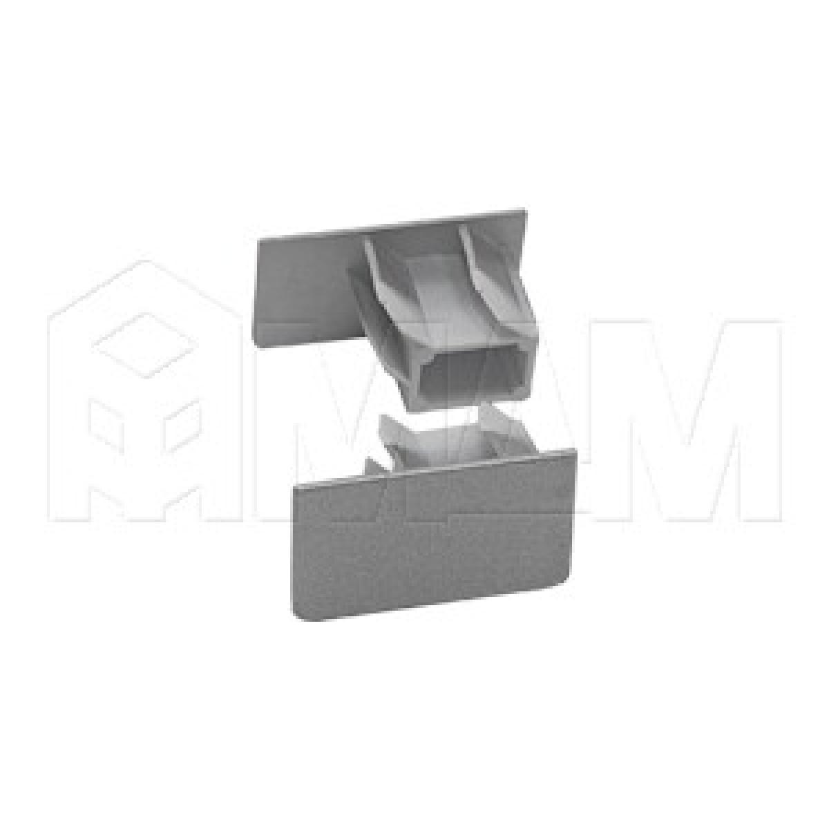 Заглушка для направляющей 7964, серебро/металлик