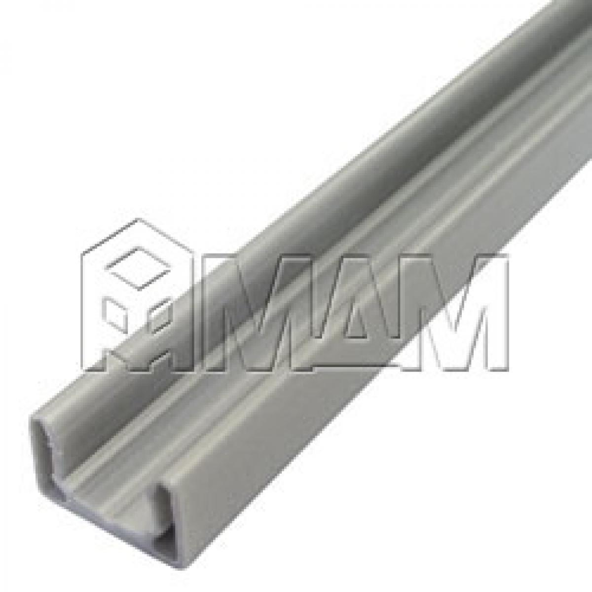 Направляющая накладная, серебро/металлик, L-2600