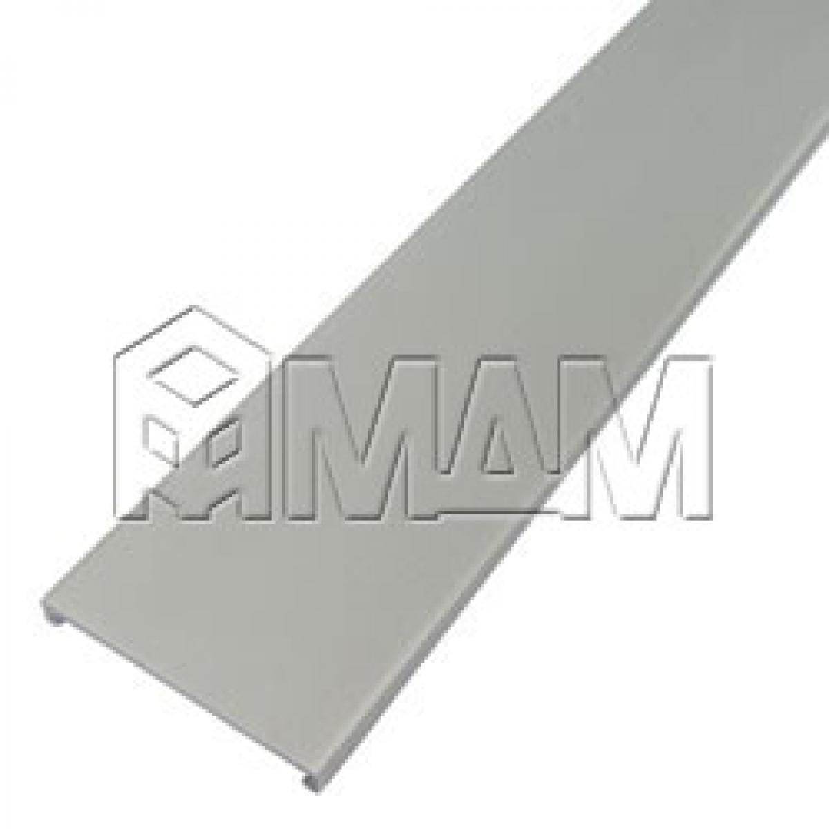 Декоративный профиль для 3708 и 2061, серебро, L-2600