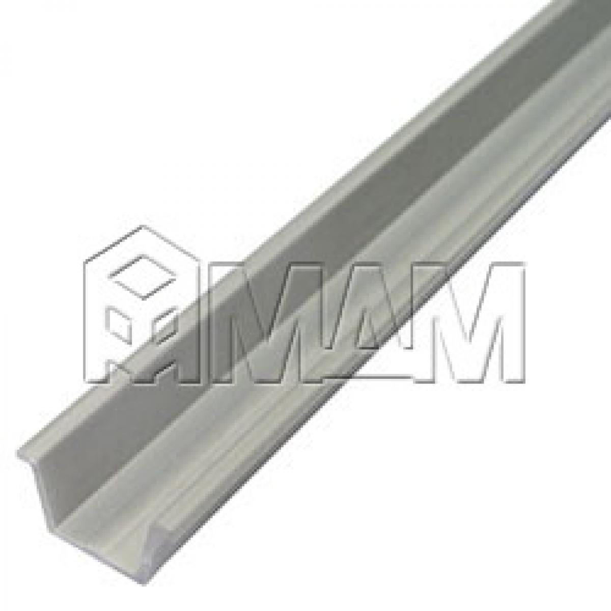 Направляющая врезная, серебро/металлик, L-2600