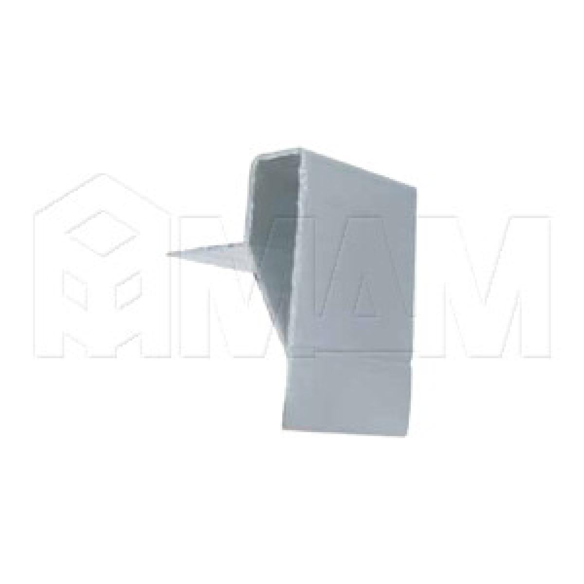 Декоративный карнизный профиль для коллектора, серебро, L-2600