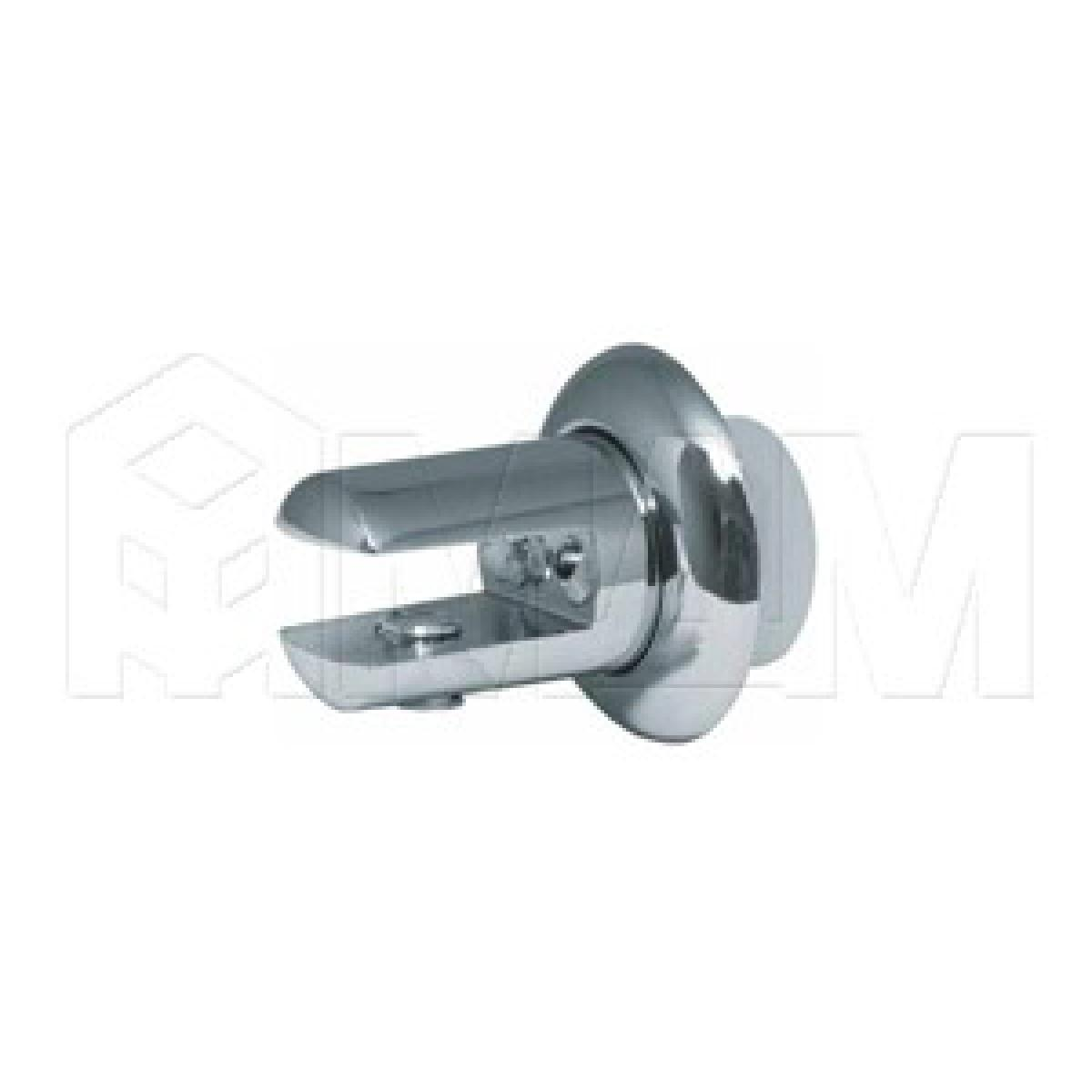 Полкодержатели - Крепление полки к зеркалу 5-6 мм, хром