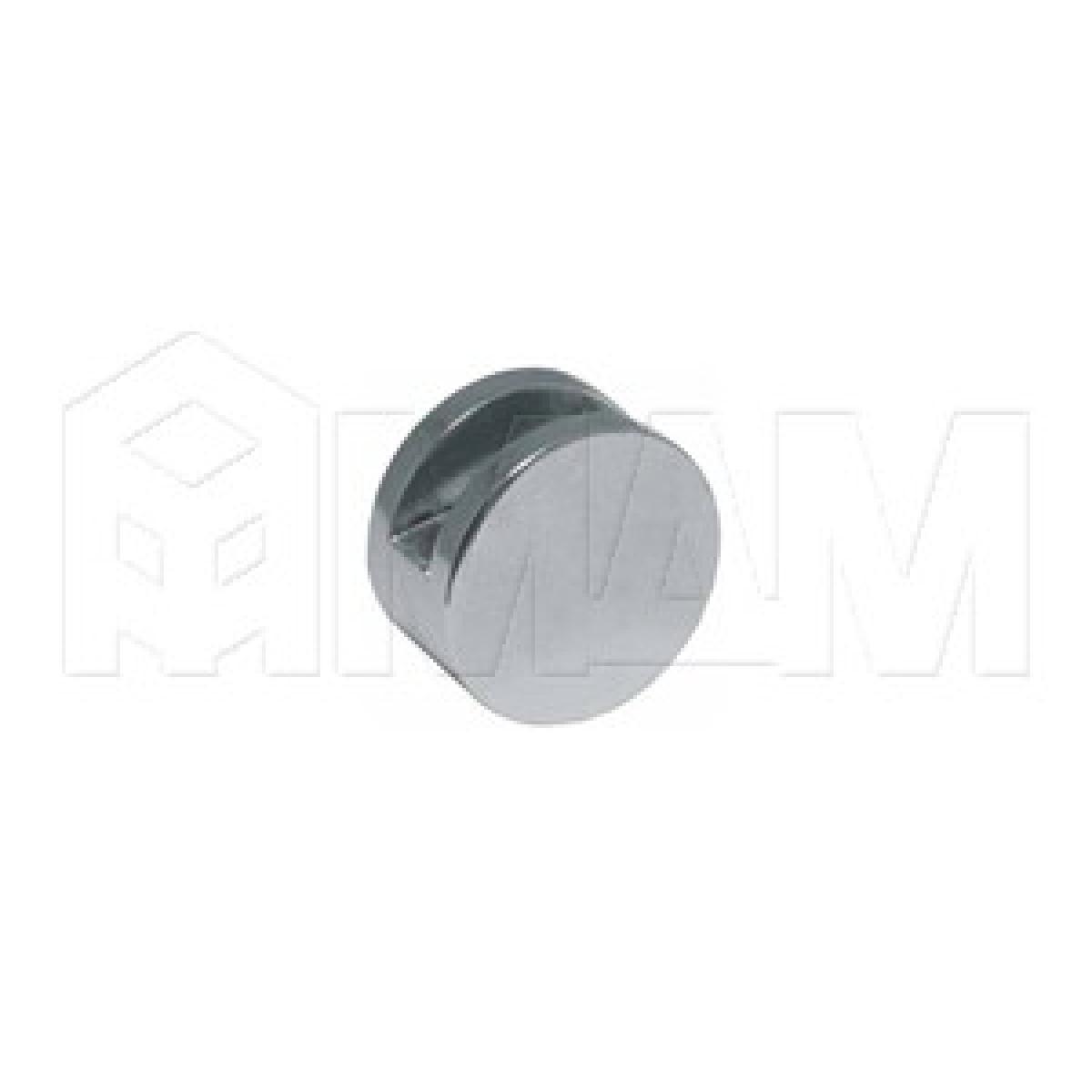 Зеркало- и стеклодержатели - Крепление зеркала 6-8 мм к стене, D22, хром