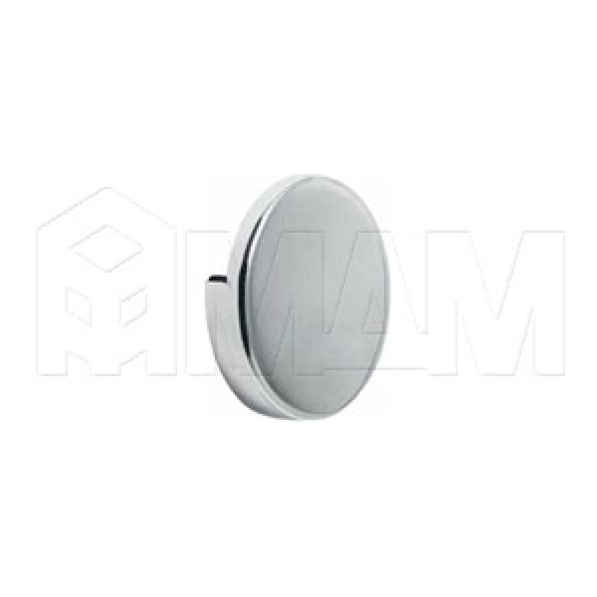 Зеркало- и стеклодержатели - Крепление зеркала 4-6 мм к стене, D60, хром