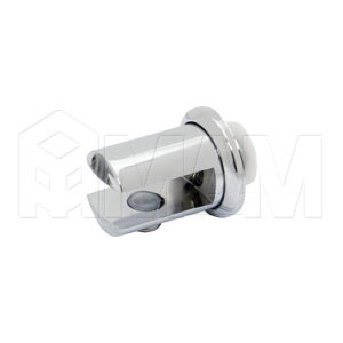 Полкодержатель с креплением к зеркалу 8-10 мм, хром
